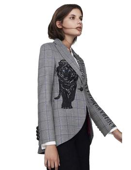 Blazer The Exteme Collection A Rayas Tuscany Para Mujer