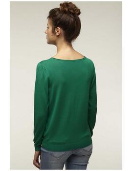 5cd959ad95d ... Chaqueta Naf Naf De Punto Verde Para Mujer