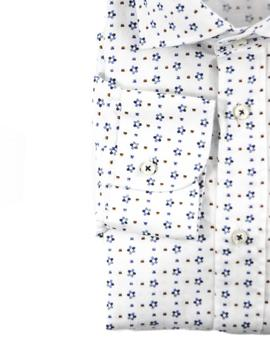 Camisa AT.P.CO Estampada Flores Para Hombre