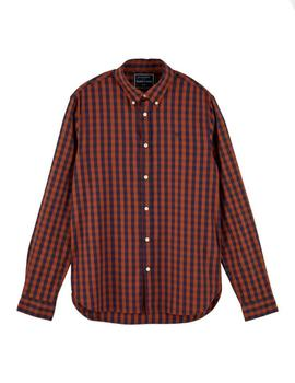 Camisa Scotch - Soda Vichy Regular Fit Para Hombre