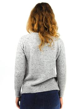 Jersey Bluton Color Gris Para Mujer