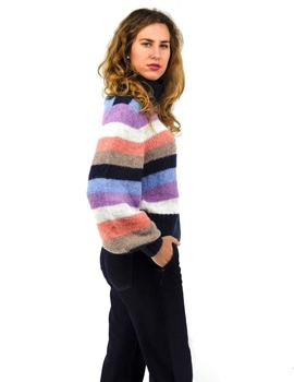 Jersey Pepe Jeans Rayas Multicolor Para Mujer