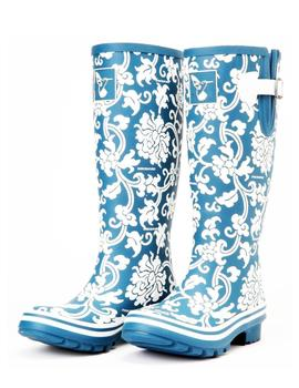 EVERCREATURES MD.DELFIT WELLIES COLOR. AZUL