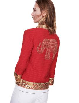 Chaqueta The Extreme Collection Maura Coral Para Mujer