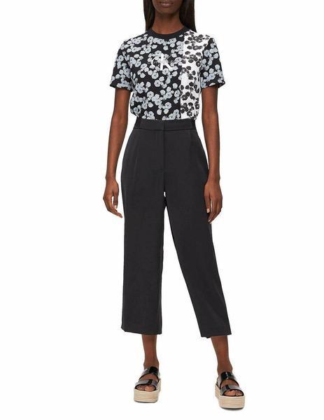 Pantalones Calvin Klein Culottes Negros Para Mujer