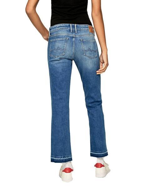 Pantalones Pepe Jeans Vaqueros Tobilleros Para Mujer