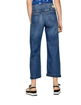 Vaqueros Pepe Jeans Everly Culotte Para Mujer