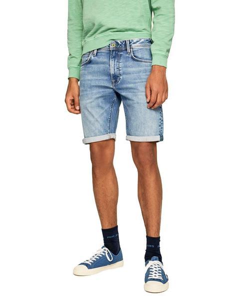 Bermudas Pepe Jeans 5 Bolsillos Stanley Para Hombre