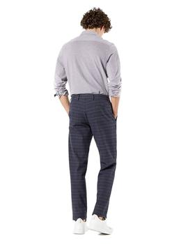 Pantalón Dockers Smart 360 Flex Chino Tapered Cuadros Marino