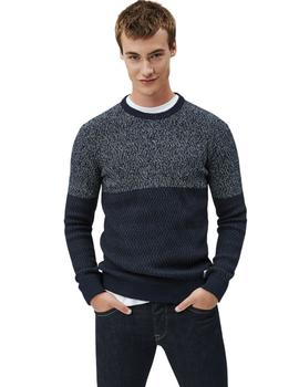 Jersey Pepe Jeans Federico Bicolor Para Hombre