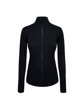 Jersey Pepe Jeans Cuello Negro Perkins Fiona Para Mujer