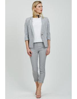 Chaqueta Hongo Collection Gris Marengo Para Mujer
