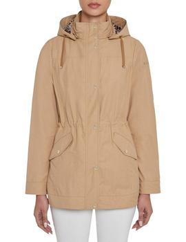 Chaqueta Geox Roose Beige Para Mujer