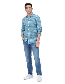 Camisa Pepe Jeans Lonnie Cuadros Para Hombre