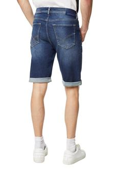 GAS Bermuda/Short Albert Short Blue Denim Wz79