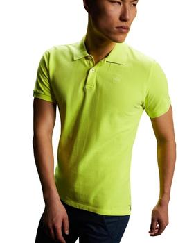 Polo North Sails Amarillo Fluor Para Hombre