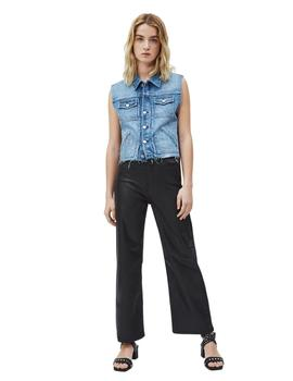 Chaleco Pepe Jeans Vaquero Elsie Para Mujer