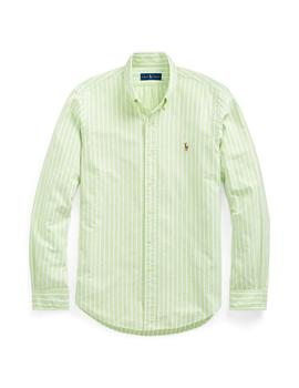 Camisa Polo Ralph Lauren A Rayas Classic Fit Para Hombre