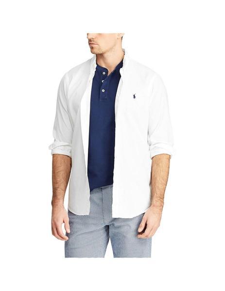 1d891f26 Camisa Polo Ralph Lauren Classic Fit Blanca Para Hombre