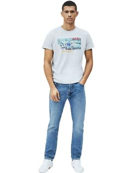 Camiseta Pepe Jeans  Collage Mig Para Hombre