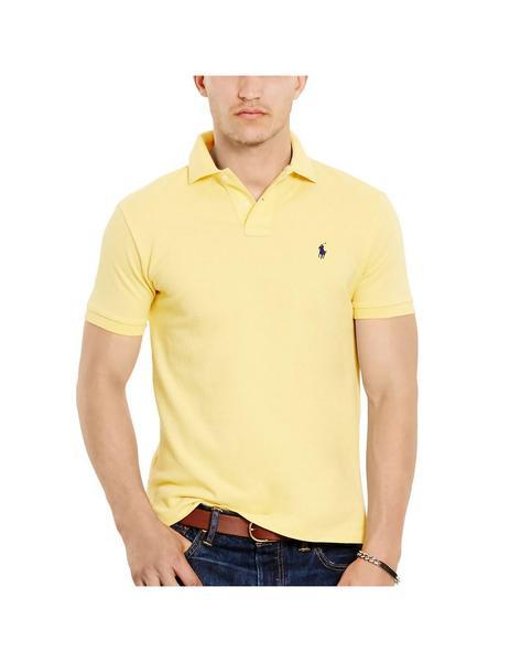 4d4a5f53 Polo Ralph Lauren De Piqué Slim Fit Amarillo Para Hombre
