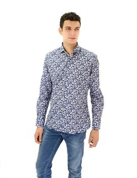 Camisa AT.P.CO Manga Larga Estampada Hombre