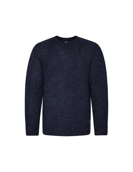Jersey Pepe Jeans Azul Oscuro Jaspeado Para Hombre