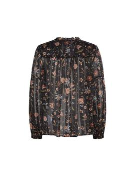 Blusa Pepe Jeans Freya Multicolor Para Mujer