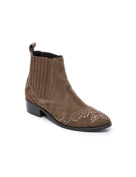 Botines Pepe Jeans Chiswick Easy Camel Para Mujer
