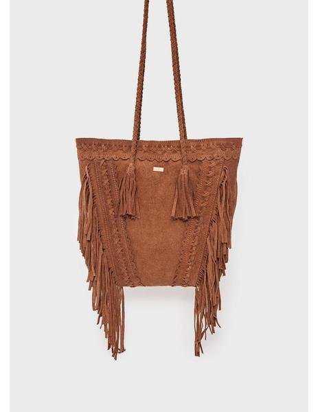 ccf679ee Maxi Bolso Pepe Jeans Boho Dianne Para Mujer